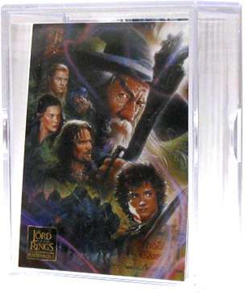 Lord of the Rings Topps Masterpieces II Trading Cards Complete Set