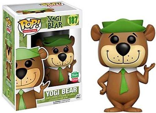 Funko POP! Animation Yogi Bear Exclusive Vinyl Figure #187