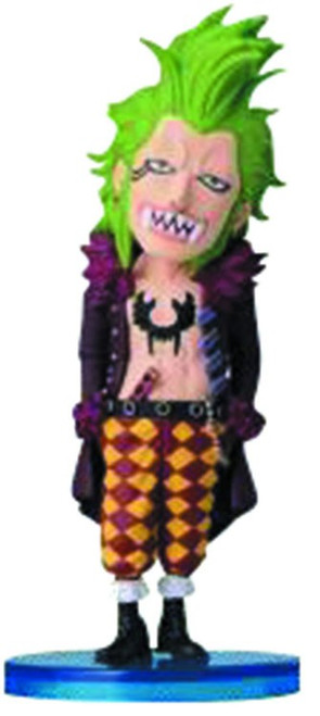 One Piece WCF Fight Dressrosa Bartolomeo 2.5-Inch Collectible Figure DR02