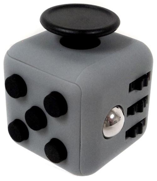 Fidget Cube Dark Grey & Black Fidget Gadget Cube [ICool]