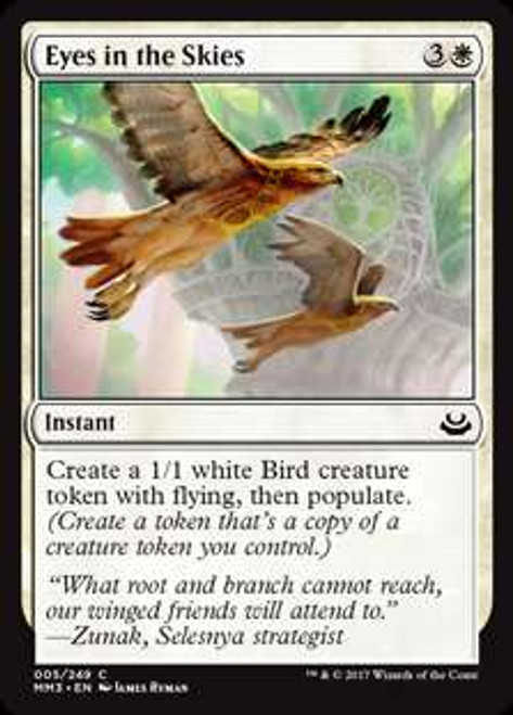 MtG Modern Masters 2017 Edition Common Foil Eyes in the Skies #5