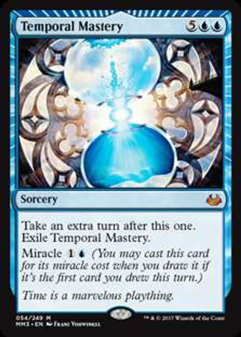 MtG Modern Masters 2017 Edition Mythic Rare Foil Temporal Mastery #54