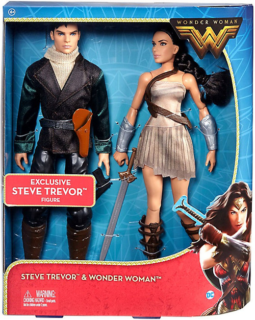 DC Steve Trevor & Wonder Woman Exclusive Doll 2-Pack