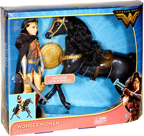 DC Wonder Woman & Horse Doll