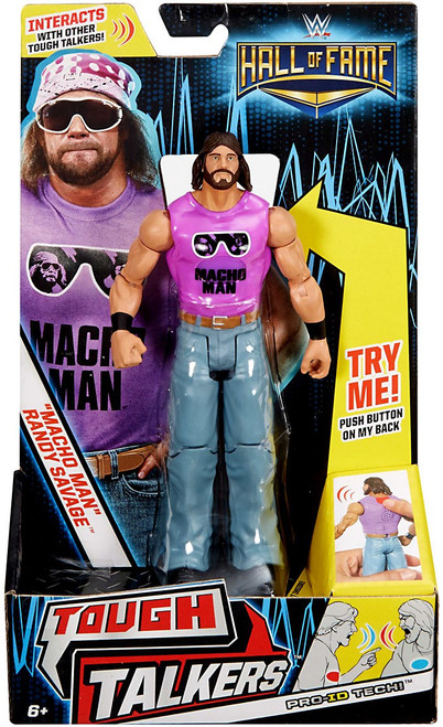 "WWE Wrestling Tough Talkers Hall of Fame ""Macho Man"" Randy Savage Exclusive Action Figure"