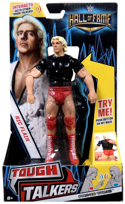 WWE Wrestling Tough Talkers Hall of Fame Ric Flair Exclusive Action Figure