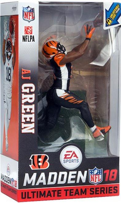McFarlane Toys NFL Cincinatti Bengals EA Sports Madden 18 Ultimate Team Series 1 AJ Green Action Figure [Black Uniform Chase]