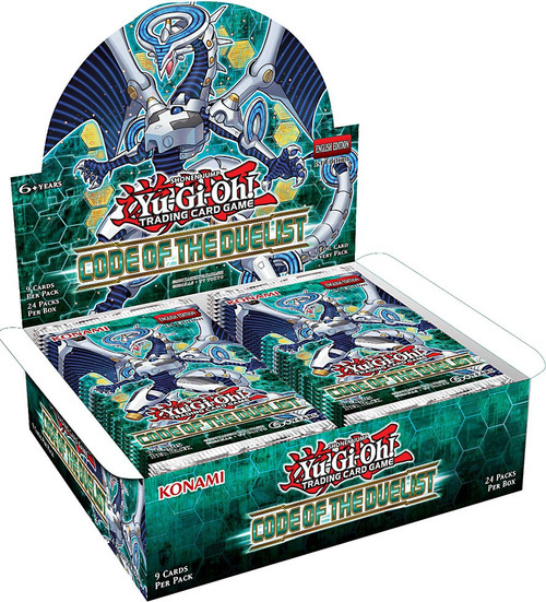 YuGiOh Trading Card Game Code of the Duelist Booster Box [24 Packs]