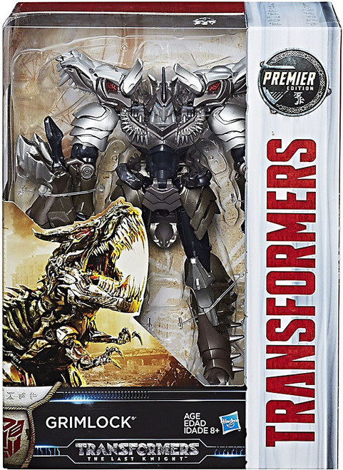 Transformers The Last Knight Grimlock Voyager Action Figure