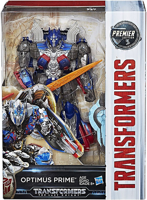 Transformers The Last Knight Optimus Prime Voyager Action Figure