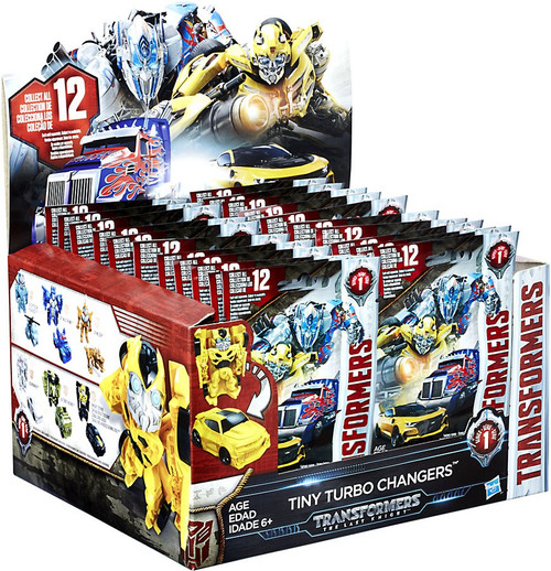 Transformers The Last Knight Tiny Turbo Changers Series 1 Mystery Box [24 Packs]