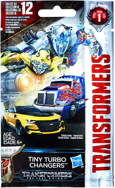 Transformers The Last Knight Tiny Turbo Changers Series 1 Mystery Pack