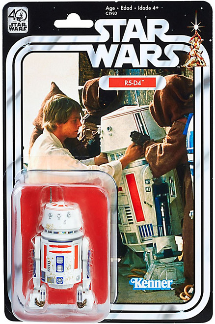 Star Wars A New Hope Black Series 40th Anniversary R5-D4 Exclusive Action Figure