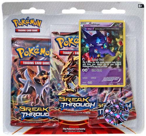 Pokemon X & Y Break Through 3-Pack Special Edition [Sableye]
