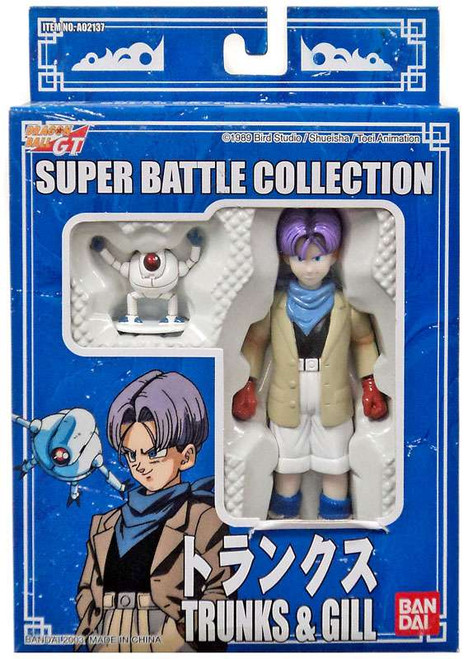 Dragon Ball GT Super Battle Collection Trunks & Gill Action Figure 2-Pack #29 [Blue Box]