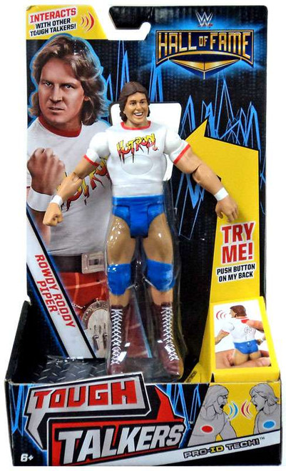 WWE Wrestling Tough Talkers Hall of Fame Rowdy Roddy Piper Exclusive Action Figure