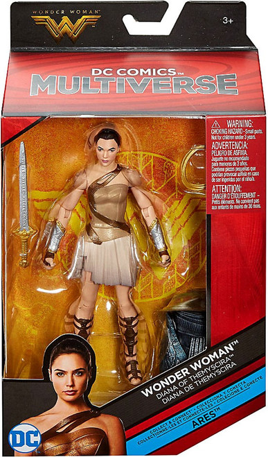 DC Wonder Woman Multiverse Ares Series Diana of Themyscira Action Figure
