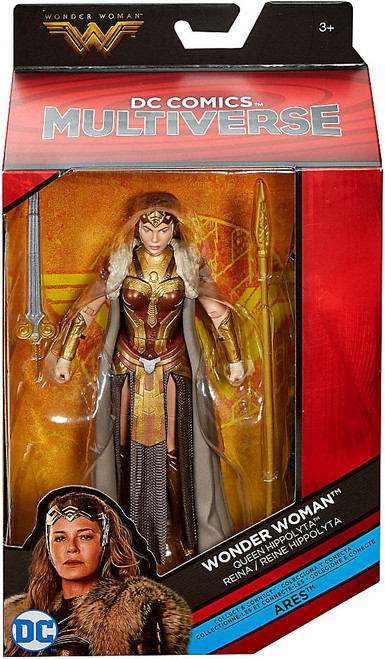 DC Wonder Woman Multiverse Ares Series Queen Hippolyta Action Figure