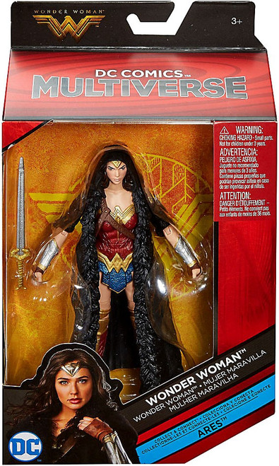 DC Multiverse Ares Series Wonder Woman Action Figure