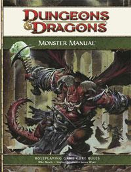 Dungeons & Dragons D&D 4th Edition Monster Manual