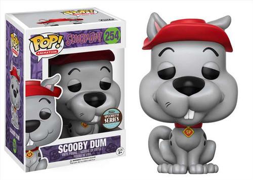 Funko Scooby Doo POP! Animation Scooby Dum Exclusive Vinyl Bobble Head #254 [Specialty Series]
