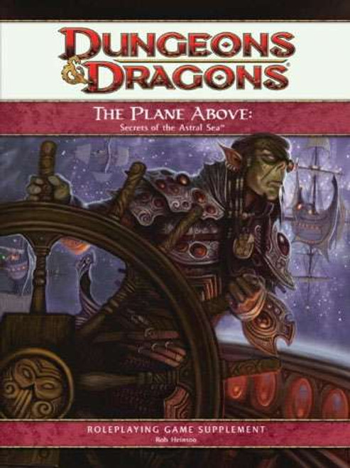 Dungeons & Dragons D&D 4th Edition The Plane Above Secrets of the Astral Sea