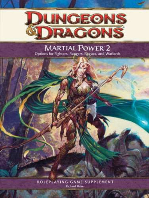 Dungeons & Dragons D&D 4th Edition Martial Power 2