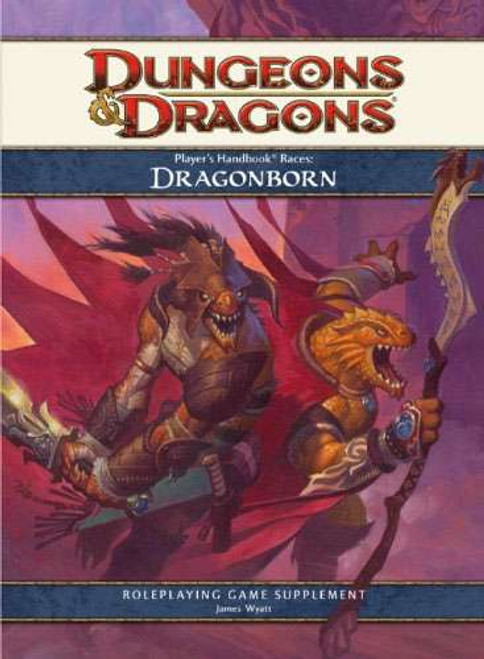 Dungeons & Dragons D&D 4th Edition Player's handbook Races Dragonborn