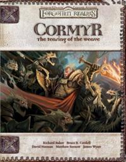 Dungeons & Dragons D&D 3rd Edition Forgotten Realms Cormyr: the Tearing of the Weave