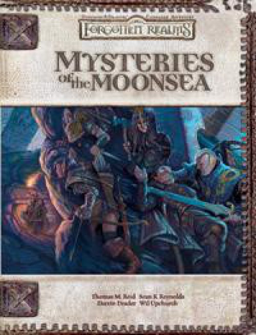 Dungeons & Dragons D&D 3rd Edition Mysteries of the Moonsea Roleplaying Book