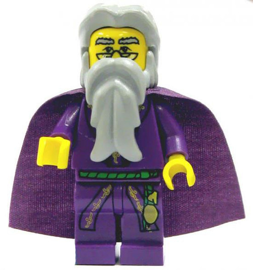 LEGO Harry Potter Albus Dumbledore Minifigure #1 [Dark Purple Cape Loose]
