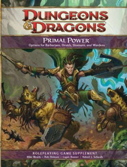 Dungeons & Dragons D&D 4th Edition Primal Power