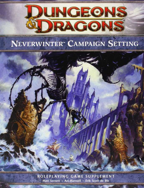 Dungeons & Dragons D&D 4th Edition Neverwinter Campaign Setting