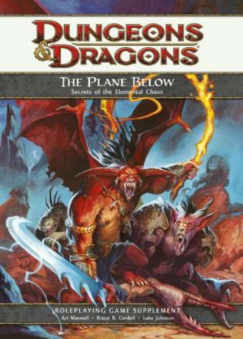 Dungeons & Dragons D&D 4th Edition The Plane Below Secrets of the Elemental Chaos