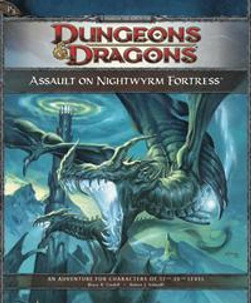 Dungeons & Dragons D&D 4th Edition Assault on Nightwyrm Fortress P3