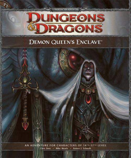 Dungeons & Dragons D&D 4th Edition Demon Queen's Enclave P2