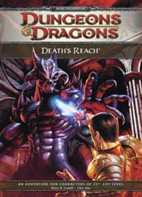 Dungeons & Dragons D&D 4th Edition Death's Reach E1