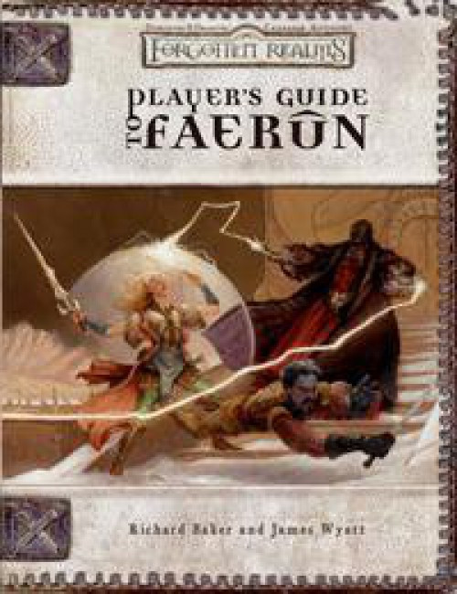 Dungeons & Dragons D&D 3rd Edition Forgotten Realms Player's Guide to Faerun Roleplaying Book