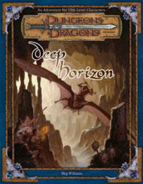 Dungeons & Dragons D&D 3rd Edition Deep Horizon Roleplaying Book