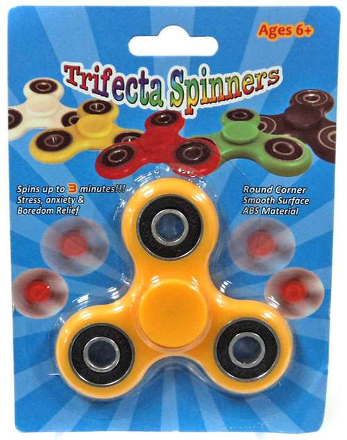 Trifecta Spinners Yellow Spinner