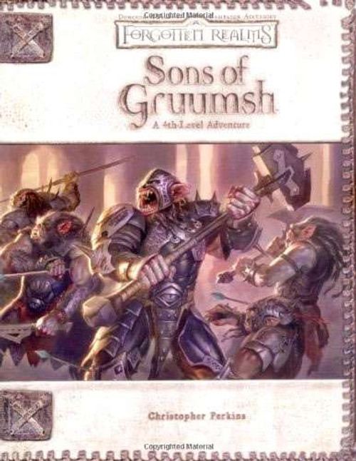 Dungeons & Dragons D&D 3rd Edition Sons of Gruumsh