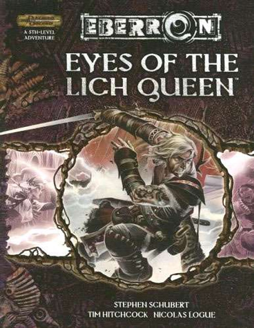 Dungeons & Dragons D&D 3rd Edition Eyes of the Lich Queen
