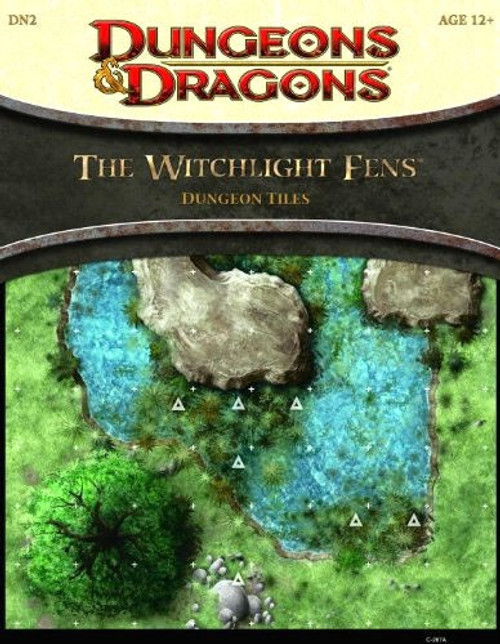 Dungeons & Dragons D&D 4th Edition The Witchlight Fens Dungeon Tiles