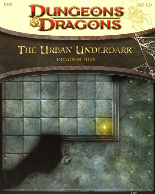 Dungeons & Dragons D&D 4th Edition The Urban Underdark Dungeon Tiles