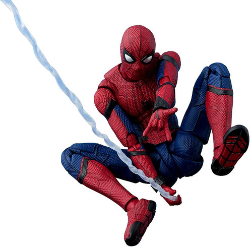 Marvel Spider-Man Homecoming S.H. Figuarts Spider-Man Action Figure [Tamashii Option Act Wall]