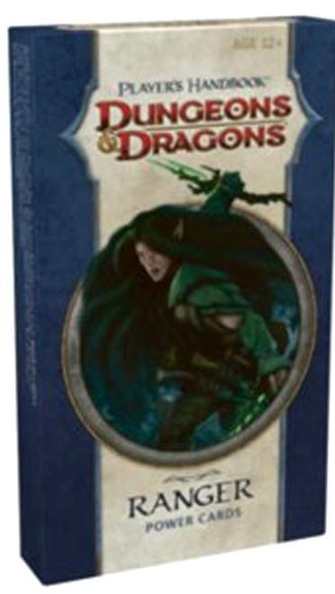 Dungeons & Dragons D&D 4th Edition Player's Handbook Ranger Power Cards