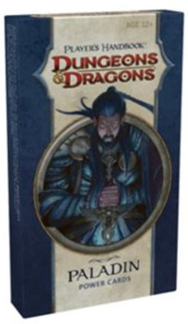 Dungeons & Dragons D&D 4th Edition Player's Handbook Paladin Power Cards