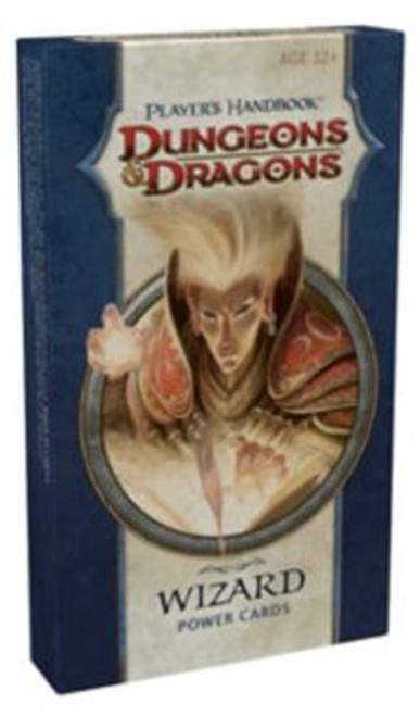 Dungeons & Dragons D&D 4th Edition Player's Handbook Wizard Power Cards