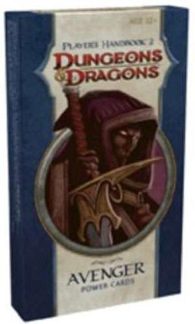 Dungeons & Dragons D&D 4th Edition Player's Handbook 2 Avenger Power Cards