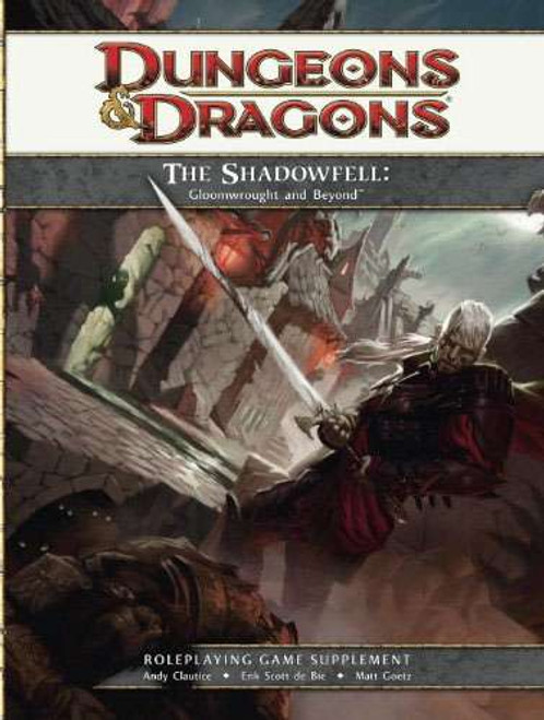 Dungeons & Dragons D&D 4th Edition The Shadowfell Gloomwrought & Beyond Roleplaying Supplement